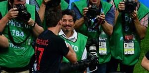 خوش شانس ترین عکاس جام جهانی !(عکس)