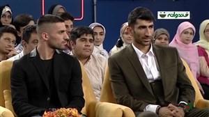 صحبتهای بیرانوند و میلاد محمدی در خندوانه درباره کیروش