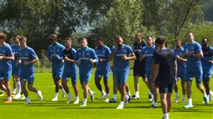 تمرینات امروز تیم اورتون برای شروع فصل 19-2018