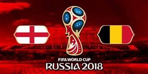 خلاصه بازی بلژیک 2 - انگلیس 0 (جام جهانی روسیه)
