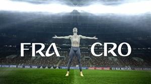پیشبازی فیفا برای دیدار فرانسه-کرواسی (فینال)