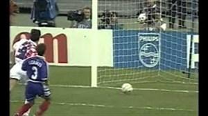 بازی خاطره انگیز؛ فرانسه 2 - کرواسی 1 جام جهانی 1998