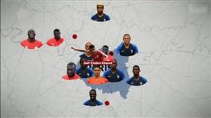 عوامل پراکندگی بازیکنان فرانسه در کشورهای دیگر