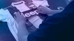 روش تعویض پیراهن رونالدو از رئال به یوونتوس