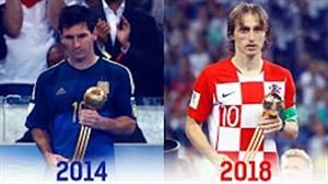 تمام برندگان توپ طلای جام جهانی از 1930 تا 2018