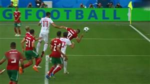 تمام گلهای با ضربه سر در جام جهانی 2018