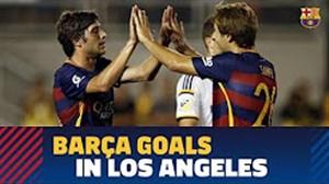 برترین گلهای بارسلونا در تور پیش فصل آمریکا