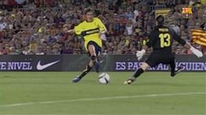دو بازی خاطره انگیز بارسلونا در مقابل بوکاجونیورز