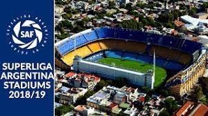 برترین استادیوم های سوپرلیگ آرژانتین فصل 19-2018
