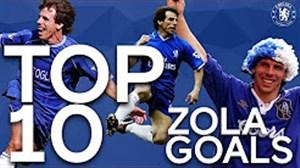 10 گل برتر جیان فرانکو زولا در چلسی