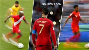 کریس رونالدو، سریعترین بازیکن جام جهانی 2018