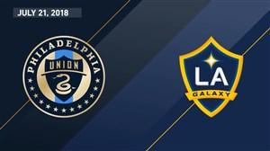 خلاصه بازی لسآنجلس گلکسی 3 - فیلادلفیا یونیون 1