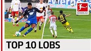 10 گل برتر بوندسلیگا در فصل 2017/18 با ضربه چیپ