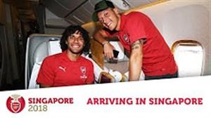 تور پیشفصل تیم آرسنال در سنگاپور