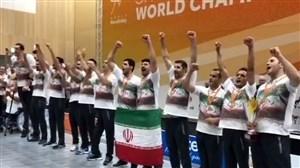 قهرمانی مقتدرانه والیبال نشسته ایران در جهان