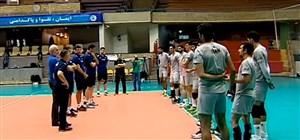 آمادگی تیم ملی والیبال برای مسابقات آسیایی جاکارتا