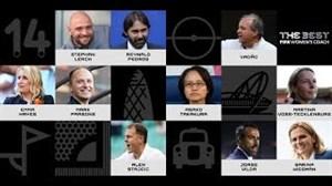 نامزدهای برترین مربی تیمهای بانوان فیفا سال 2018