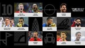 نامزدهای بهترین بازیکن فیفا در سال 2018