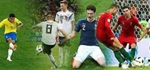 30 گل زیبا در جام جهانی روسیه 2018