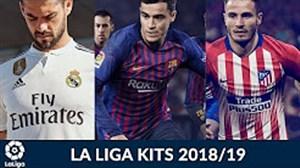 کیت تیمهای لالیگا برای فصل 2018/19