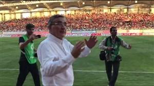 استقبال ویژه از برانکو در استادیوم امام رضا (ع)