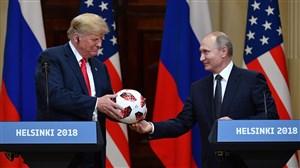 تراشه جاسوسی در توپ اهدایی پوتین به ترامپ؟