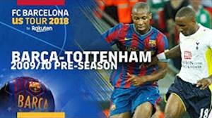 بارسلونا 1 - تاتنهام 1 (دوستانه پیشفصل 2009/10)