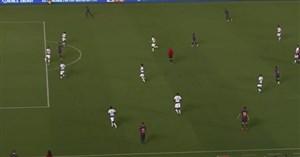 ضربه زیبای آرتور ملو گل دوم بارسلونا به تاتنهام