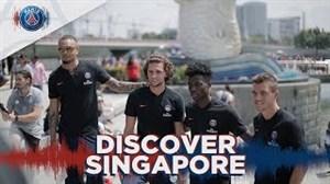 گردش در سنگاپور همراه با بازیکنان پاری سن ژرمن