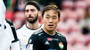 یک بازیکن ژاپنی در تراکتورسازی
