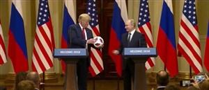 حواشی توپ اهدایی پوتین به ترامپ