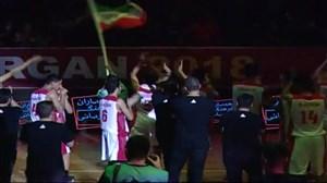 خلاصه بسکتبال نوجوانان ایران 98 - اردن 25