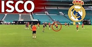 گل تماشایی ایسکو در تمرین رئال مادرید