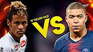 مقایسه امباپه 19 ساله با نیمار 19 ساله