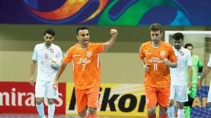 برنامه مرحله یک چهارم جام باشگاههای فوتسال آسیا