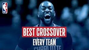 بهترین کراس اوور هر تیم در فصل 18-2017 بسکتبال NBA