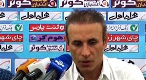 کنفرانس خبری بازی استقلال خوزستان - پدیده مشهد