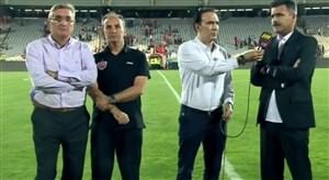 صحبتهای برانکو و پورموسوی پس از بازی
