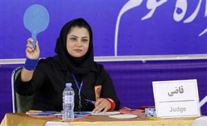 اظهارات جالب اولین قاضی زن کشتی ایران