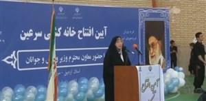 افتتاحمجهزترین خانهکشتی شمالغرب ایران در سرین
