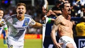 اولین گل ستارگان بزرگ فوتبال در لیگ MLS آمریکا