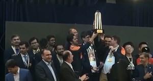قهرمانی تیم شطرنج آقایان در جام ملتهای آسیا