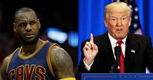 ترامپ در جنگ با ستاره بسکتبال تنها ماند!