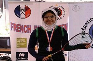 دختر اسکواش باز ایرانی در رده بیستم جهان