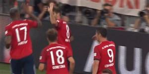 گل اول بایرن مونیخ به منچستریونایتد(خاوی مارتینز)