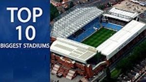10 استادیوم بزرگ لیگ قهرمانان اروپا