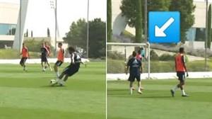 تکنیکها و مهارتهای مارسلو در تمرین رئال مادرید