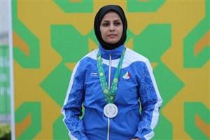 الهه احمدی پرچمدار ایران در بازی های آسیایی شد