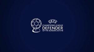 مدافعان برتر لیگ قهرمانان اروپا در فصل 2017/18