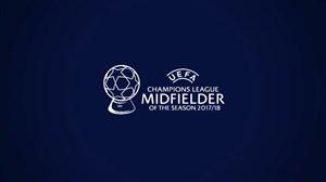 هافبکهای برتر لیگ قهرمانان اروپا در فصل 2017/18